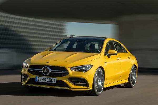 全新2019款Mercedes-AMG CLA 35发动机功率为302bhp