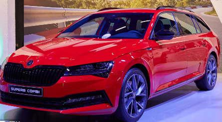 2020款斯柯达精湛的改款采用插电式混合动力车