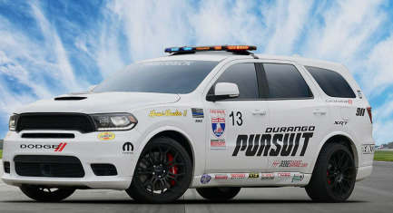 Dodge Durango SRT Pursuit Speed Trap是一款疯狂的797-HP SUV