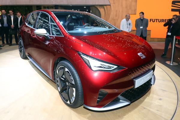 新款SEAT el-Born概念车在日内瓦预售全电动家用车