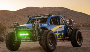 斯巴鲁的Baja赛车是你今天看到的最酷的东西