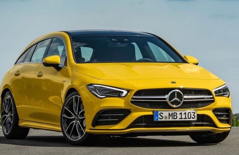 2019年Mercedes-AMG CLA 35 Shooting Brake透露