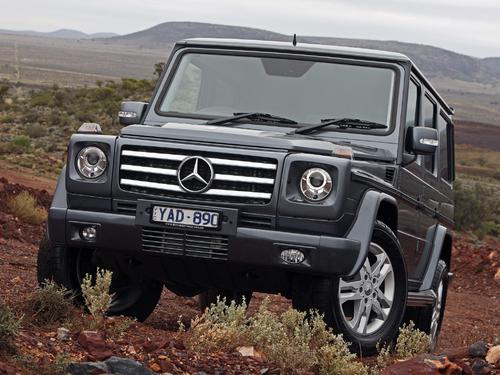 新款G-Class具有精细的动力传动系统和大量额外功能