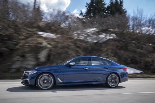 2020款BMW M550i xDrive在美国欧洲获得更大动力