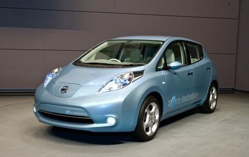 根据制造商的计算 日产的Leaf是去年欧洲最畅销的纯电动车型