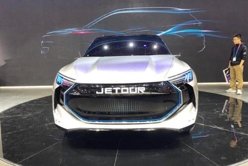 奇瑞的Jetour看到第一款EV车型在下半年上市