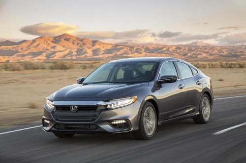 2020本田Insight混合动力轿车获得135美元的价格冲击