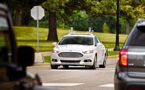 福特成为第一家在华盛顿特区测试自动驾驶汽车的汽车制造商
