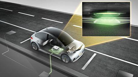 宝马新的无线充电垫将电动汽车变成手机