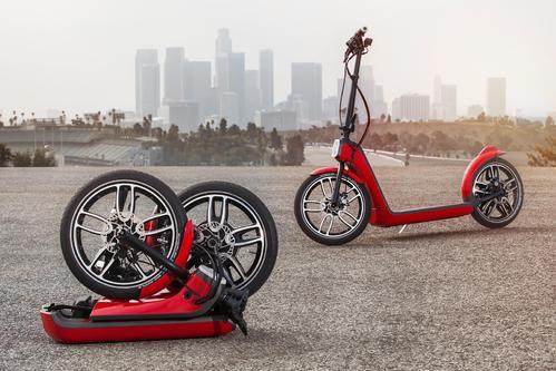 宝马将自己的城市滑板车带入市场