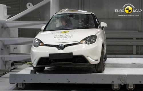 Euro NCAP在美国推出5款新车的5星级碰撞测试