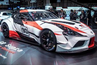丰田在日内瓦车展上展示新款Supra GT4赛车
