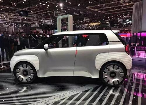 菲亚特的Centoventi概念车预览了一辆电动熊猫城市车
