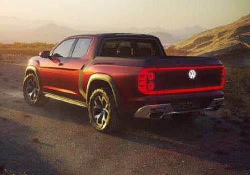 大众汽车发出重要提示 它将生产阿特拉斯Tanoak皮卡