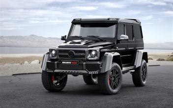 Brabus称900是世界上最强大的12缸越野车
