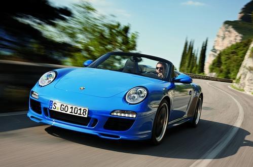 保时捷911 Speedster华丽而罕见 是一款与众不同的特别版