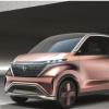日产IMk概念车被作为一款电动紧凑型城市车而推出