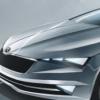 VisionC概念草图预览未来斯柯达五门轿跑车