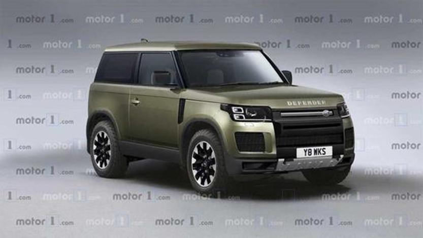 2020 Land Rover Defender运动数字仪表组 小型触摸屏