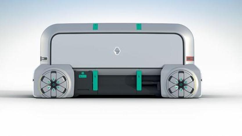 雷诺EZ-Pro概念在野外发现 应该在巴黎首次亮相