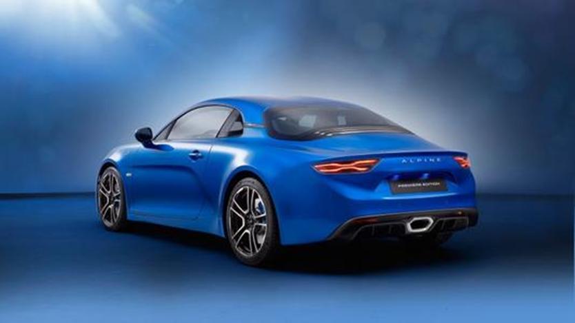 Alpine可能已经在日内瓦车展上首次展示了新款A110跑车