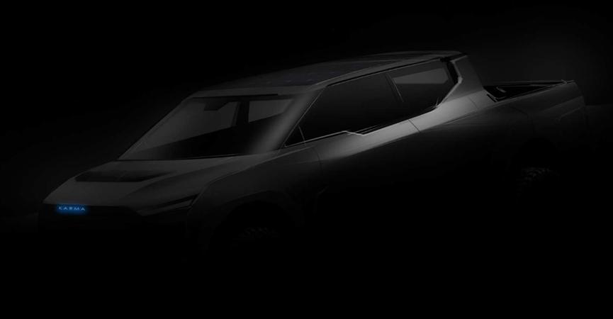 Karma考虑在新型全电动汽车的基础上开发电动皮卡车和SUV