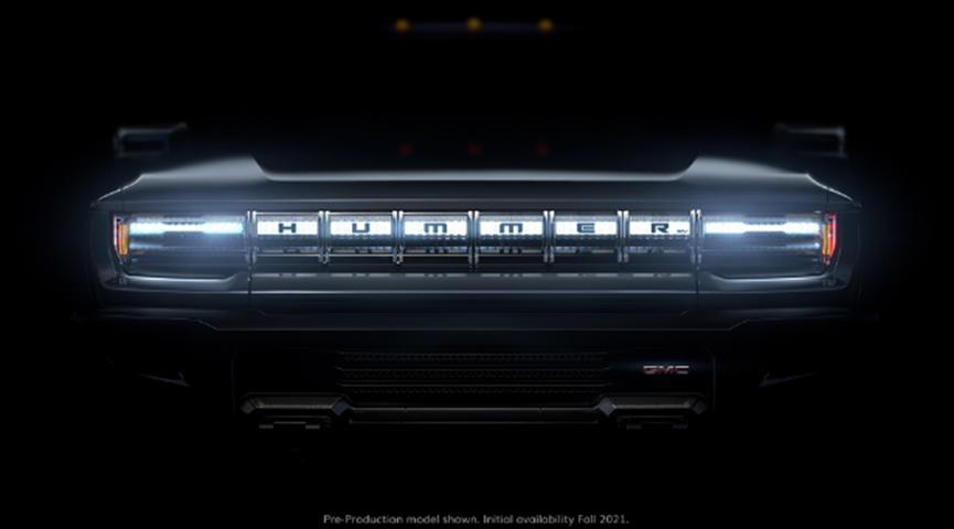 通用汽车宣布将于2021年9月开始销售电池供电的悍马皮卡车