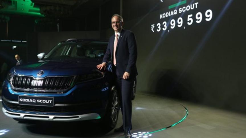 Skoda Kodiaq Scout在印度推出 价格为340万卢比