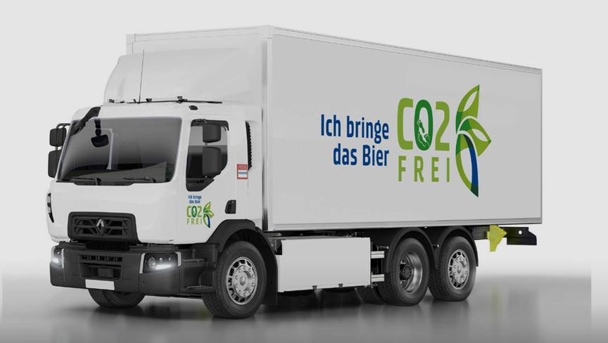 雷诺卡车将向嘉士伯集团交付20辆电动卡车