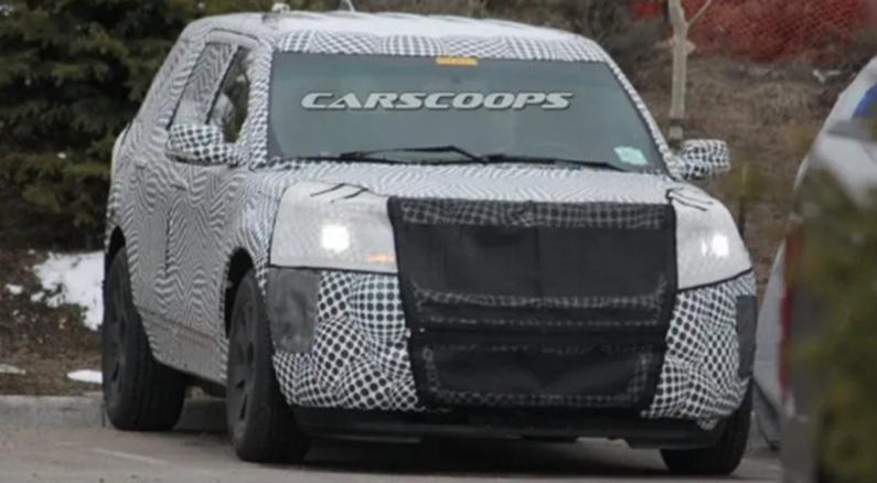 福特的下一代2019 Explorer可能会在纽约车展上首次亮相