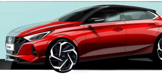 现代汽车正准备在下个月的日内瓦车展上发布一款全新的i20掀背车