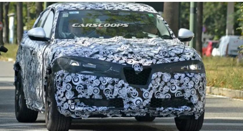 2020阿尔法罗密欧Stelvio SUV在洛杉矶首次亮相前进入最后测试阶段