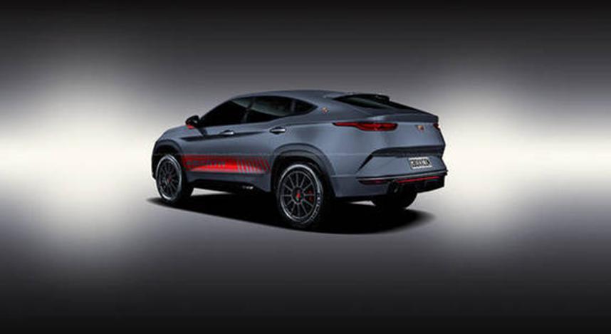 菲亚特发布了其最新概念车Fastback