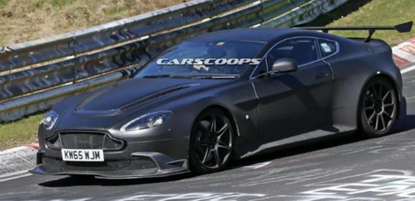 新阿斯顿•马丁Vantage GT8进行Nurburgring值班之旅