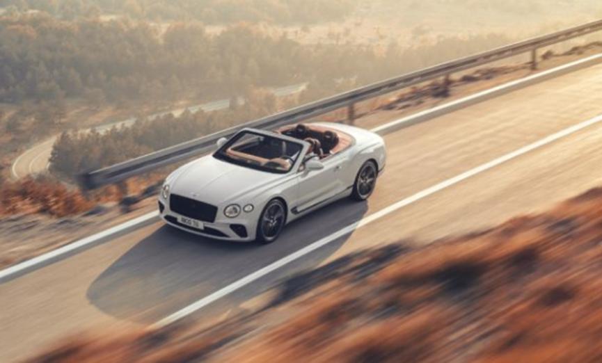 全新第三代宾利欧陆GT敞篷车亮相