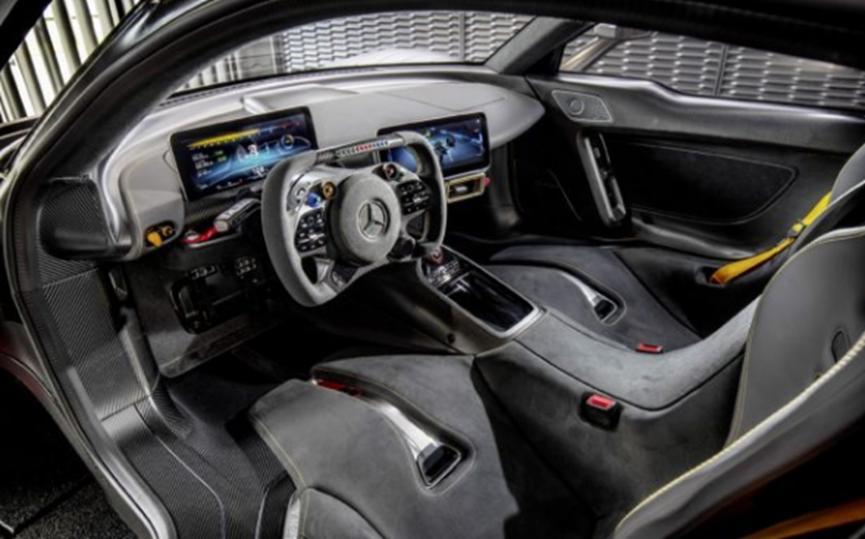 新超级跑车将被称为梅赛德斯奔驰-AMG One