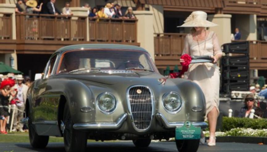 来见识一下最稀有捷豹 宾尼法里纳设计的1954年XK120