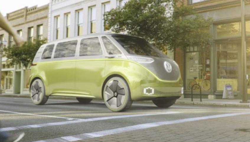 大众将基于ID Buzz概念构建电动微型客车