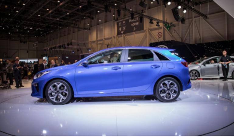 起亚在三月份的日内瓦车展上首次公开亮相