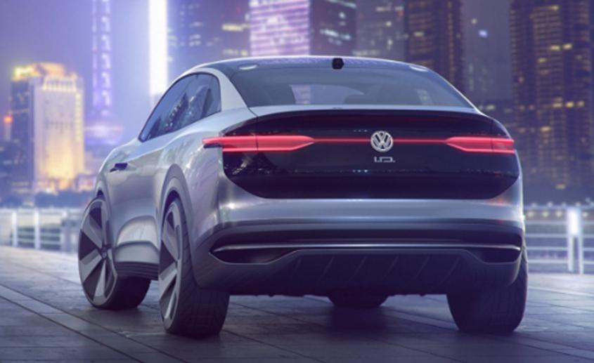 大众透露 ID Crozz电动轿跑车SUV将于2020年上市