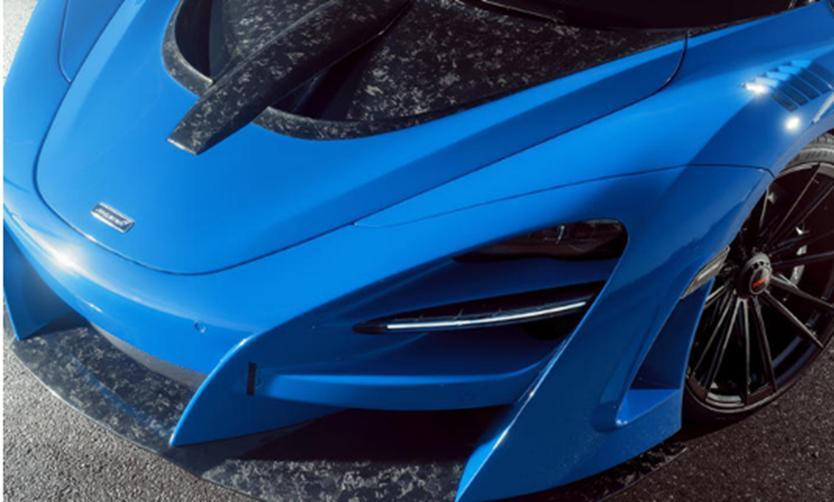 800马力迈凯轮720S蜘蛛宽体看起来很壮观