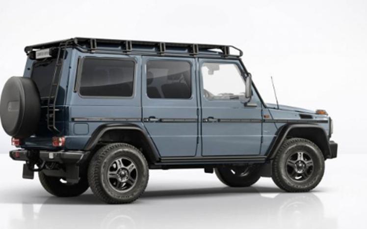 梅赛德斯-G级一直是市场上最独特的车身形状之一