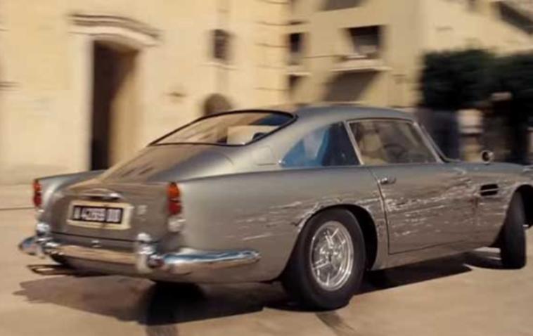阿斯顿马丁打造了M3动力的DB5特技车