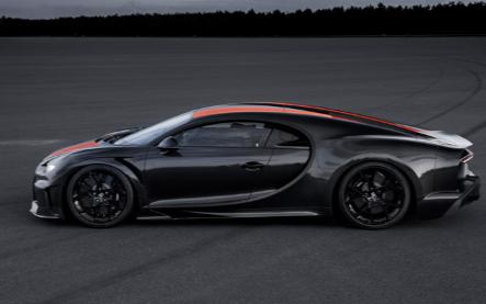 布加迪正计划基于破纪录的超级跑车