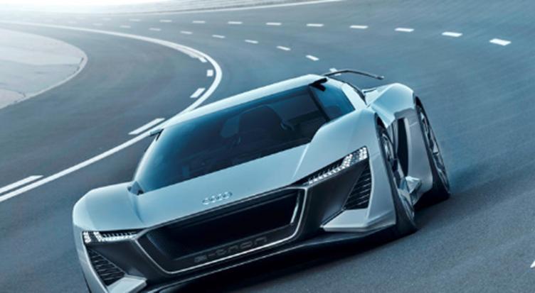 奥迪的950马力电动超级跑车初具规模