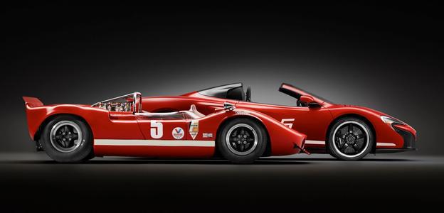 拿起这迈凯轮Can-Am赛车不到一个新的720S