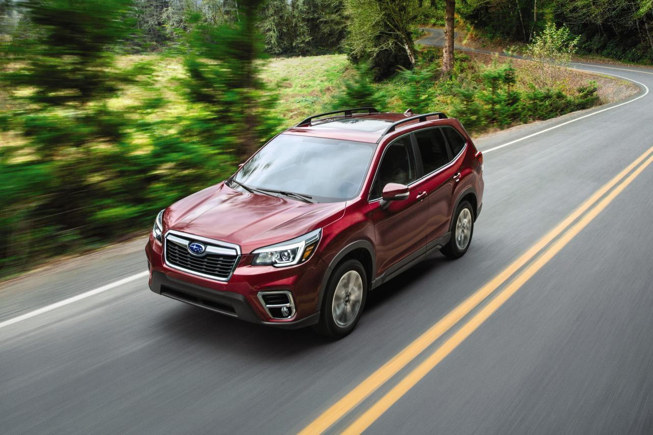 2020年斯巴鲁森林人(Subaru Forester)眼力增强,价格上涨