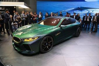 宝马M8 Gran Coupe在洛杉矶车展首映前进入生产