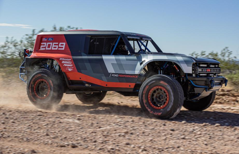 2020年福特Bronco:越野竞赛原型告诉我们有关SUV的三件事