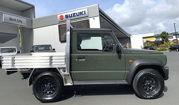 铃木热销迷你休旅Jimny推出皮卡改装车,仅限新西兰市场